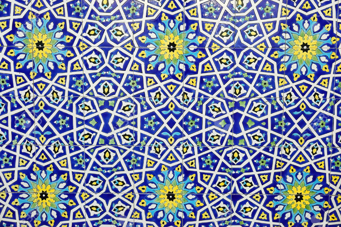 47217984 Traditional Moroccan Tile Pattern Background Stock Photo