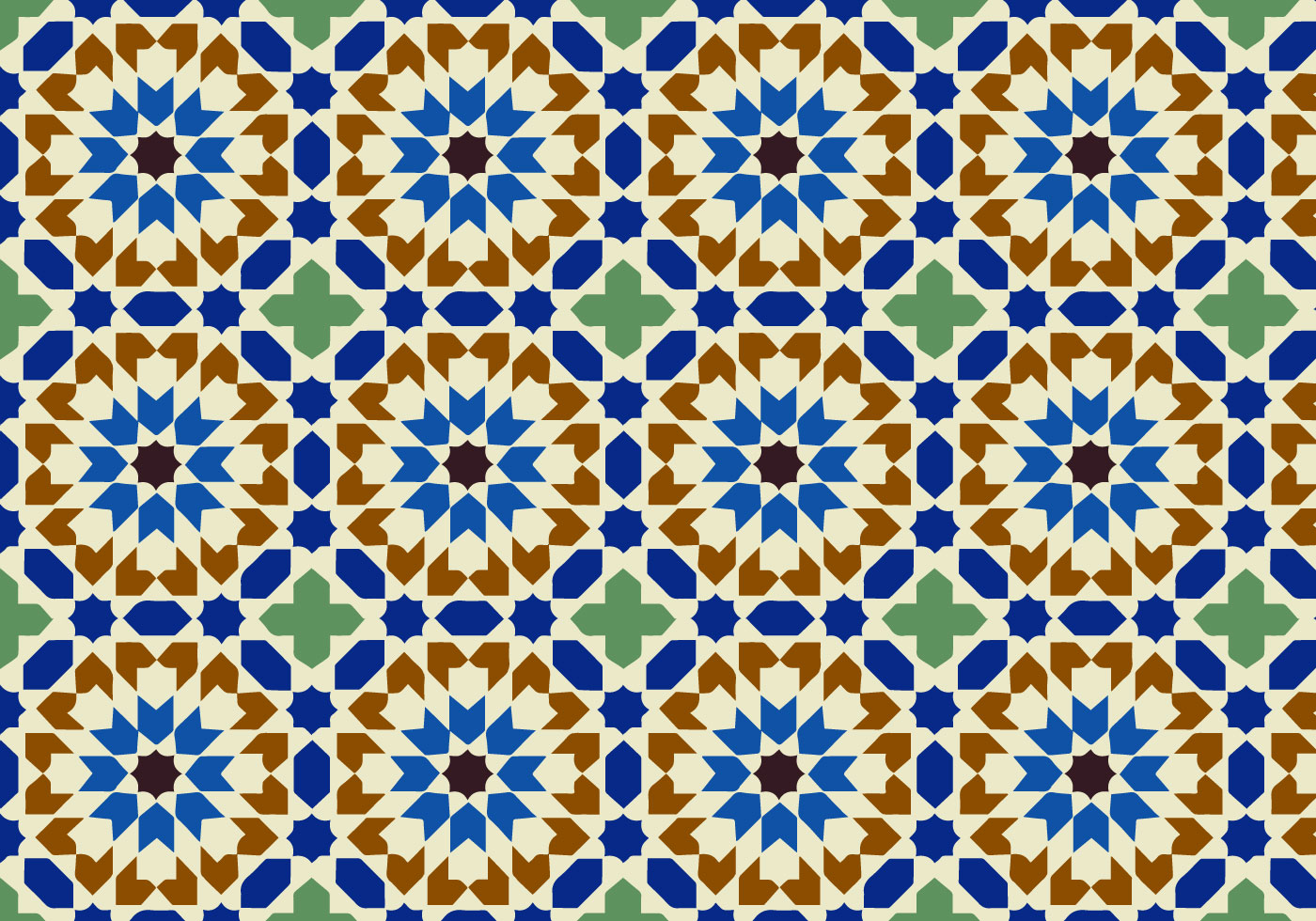 Moroccan Pattern Custom Decoration