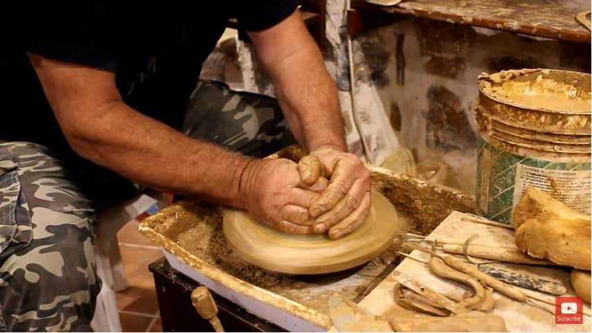 pottery-butter-dish