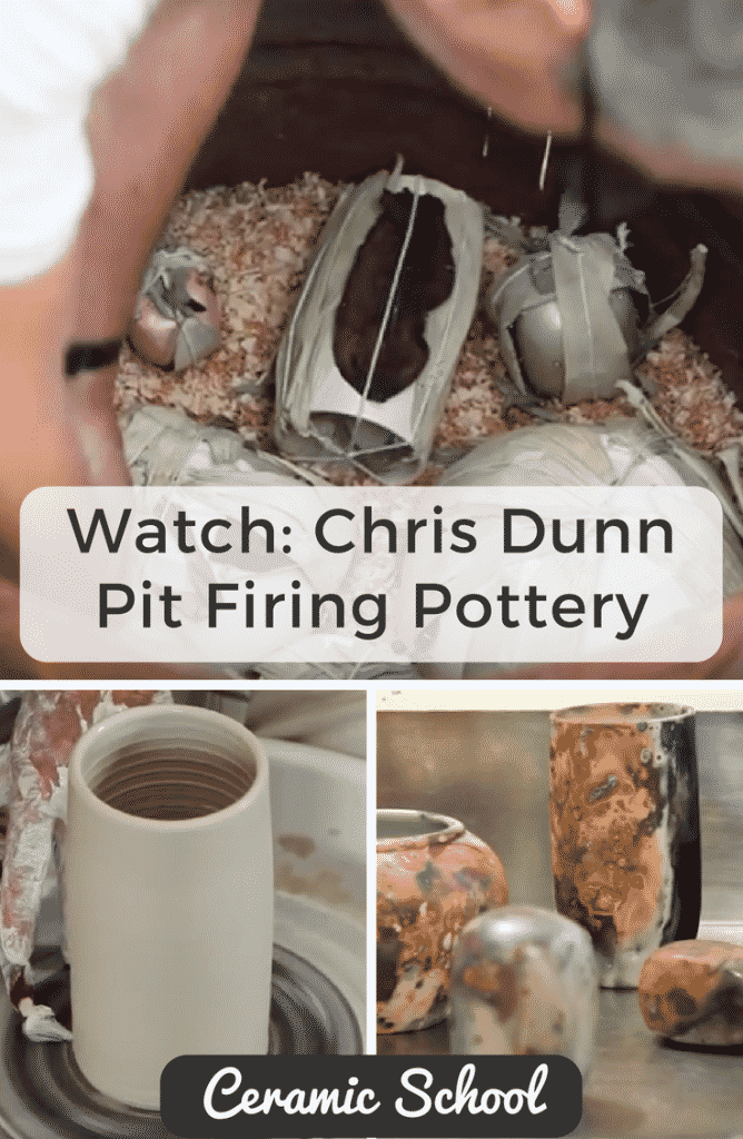 Chris Dunn Pit Firing Pottery