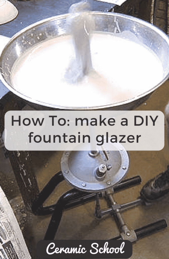 how to make a DIY Fountain Glazer