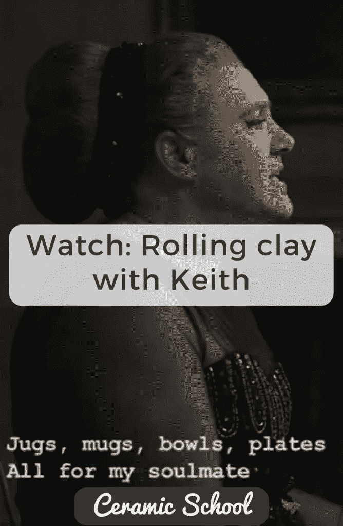 Rolling Clay with Keith