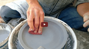 how to throw plate