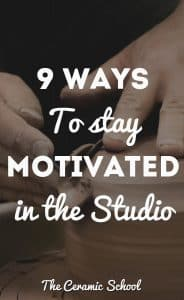 9 ways to stay motivated in the studio