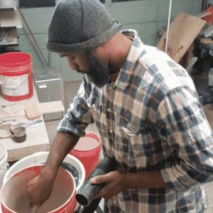 vacuum to glaze