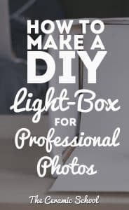 How to make a DIY Lightbox