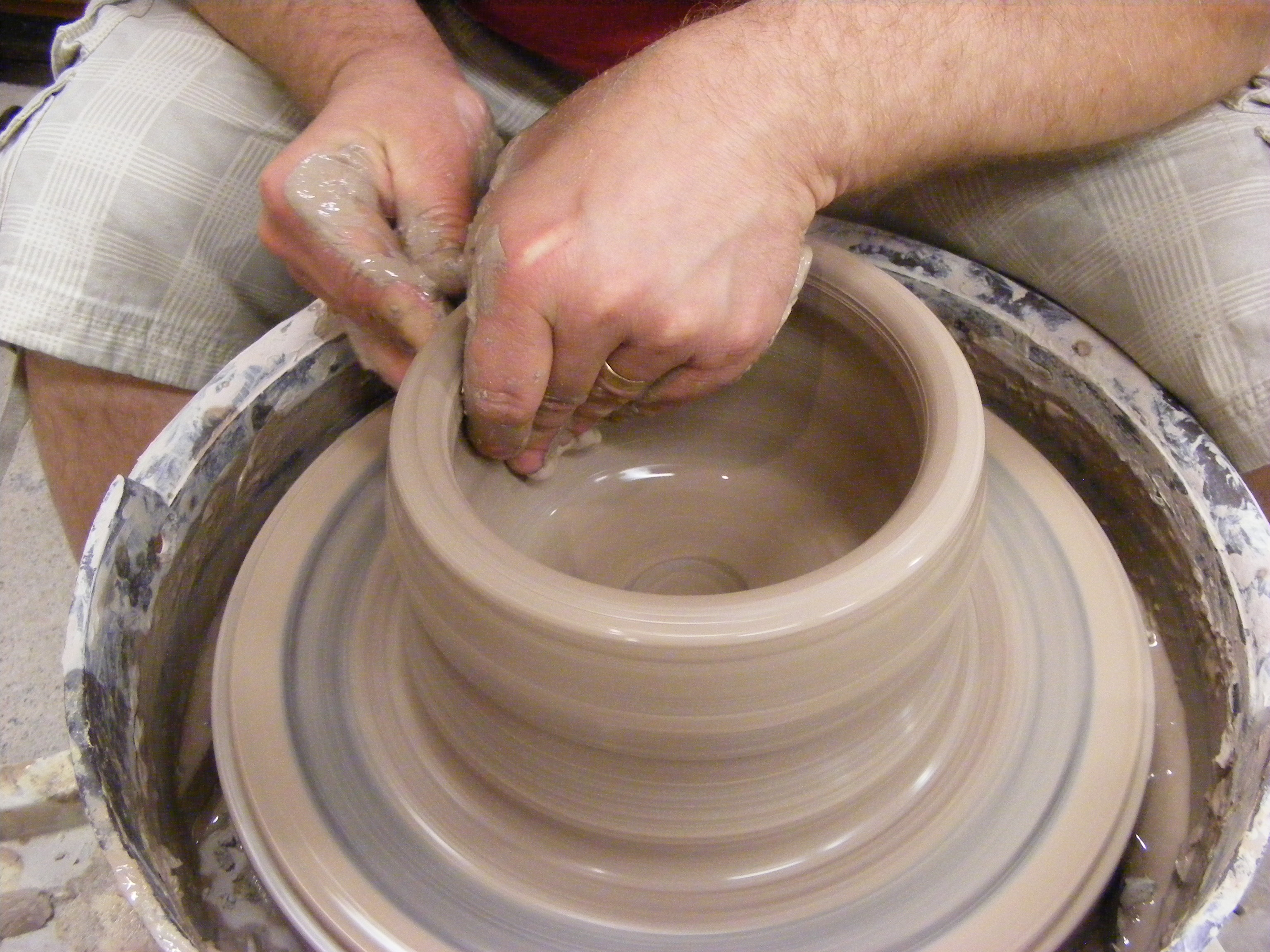 How To Make A Pottery Wheel The Ceramic School